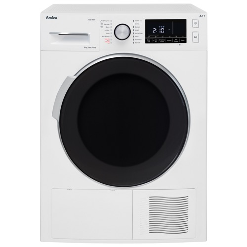 AHD8WH 8kg Freestanding tumble dryer