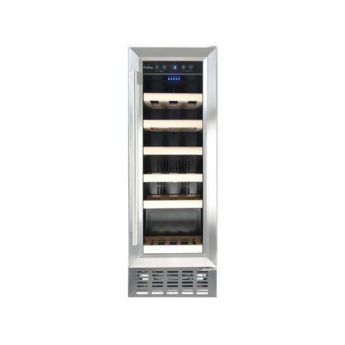AWC300SS Freestanding/ under counter slimline wine cooler