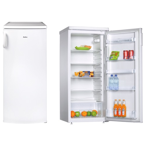 FC2063 55cm freestanding upright larder fridge, white