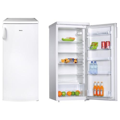FC2063 55cm freestanding upright larder fridge, white