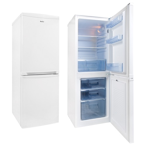 FK1974 50cm freestanding 50/50 fridge freezer, white