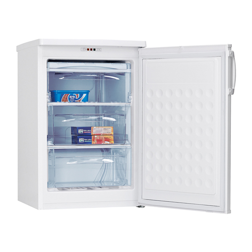 FZ1383 55cm freestanding undercounter freezer, white
