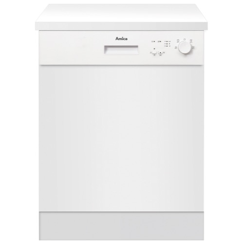 ZZV634W 60cm semi-integrated dishwasher, white