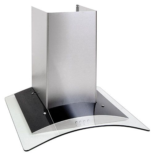 OKP6321G 60cm curved glass extractor, stainless steel Alternative ()