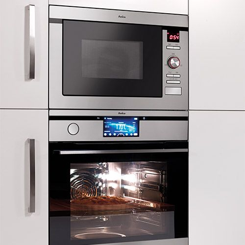 AMM25BI Built-in microwave oven and grill, stainless steel  Alternative ()
