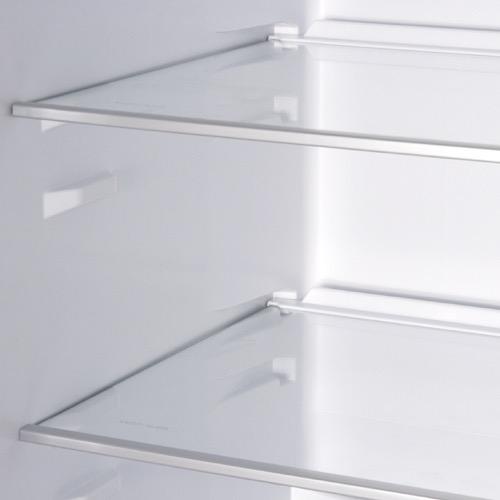 FK3213DF 60cm freestanding frost-free fridge freezer, white Alternative ()