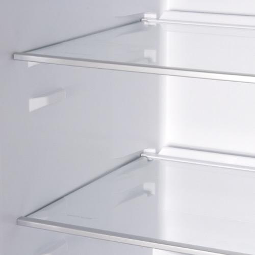 FK3213DFX 60cm freestanding frost-free fridge freezer, stainless steel Alternative ()