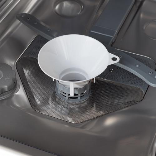 ZWM496W 45cm freestanding dishwasher, white Alternative ()