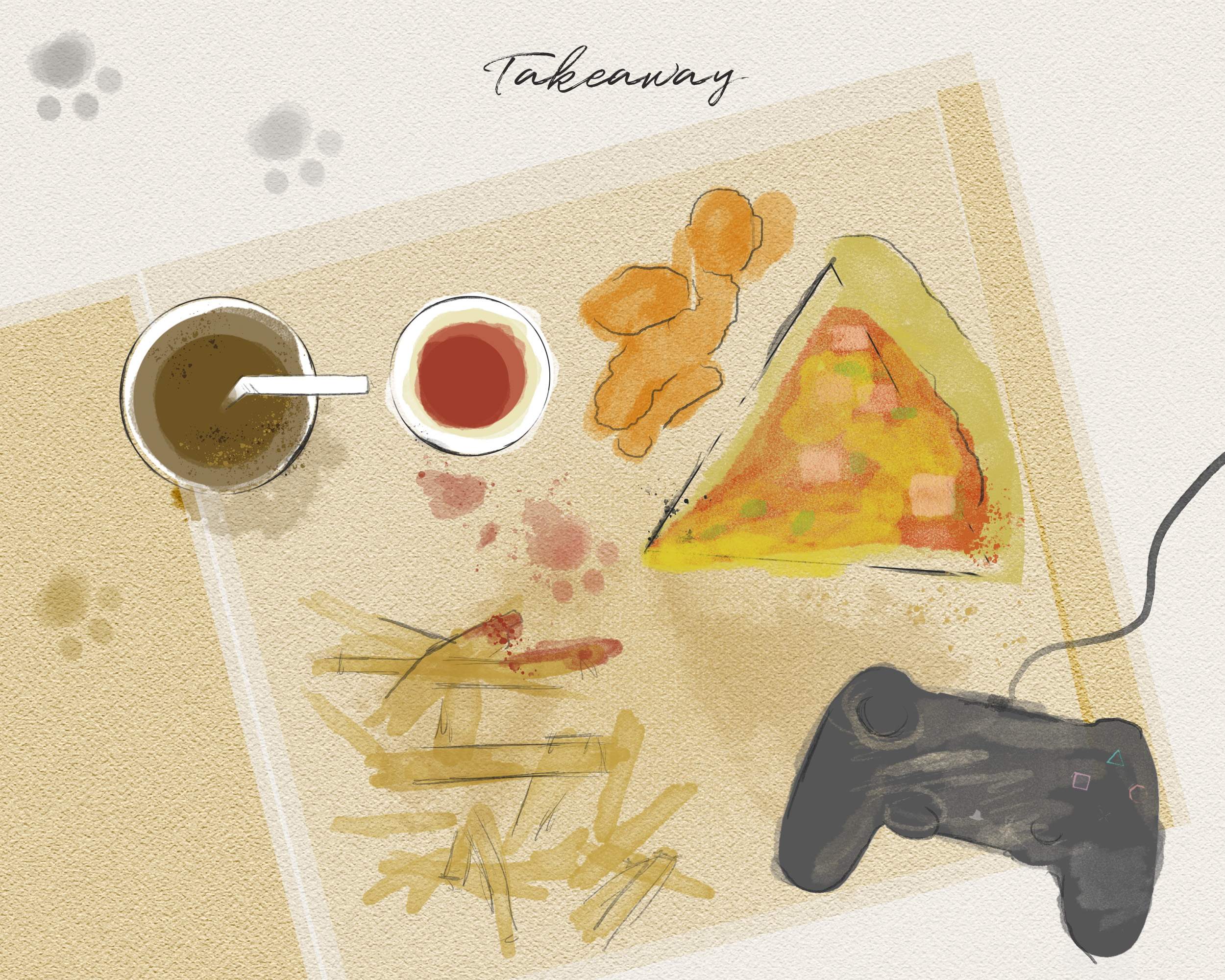 takeaway setting - modern dining